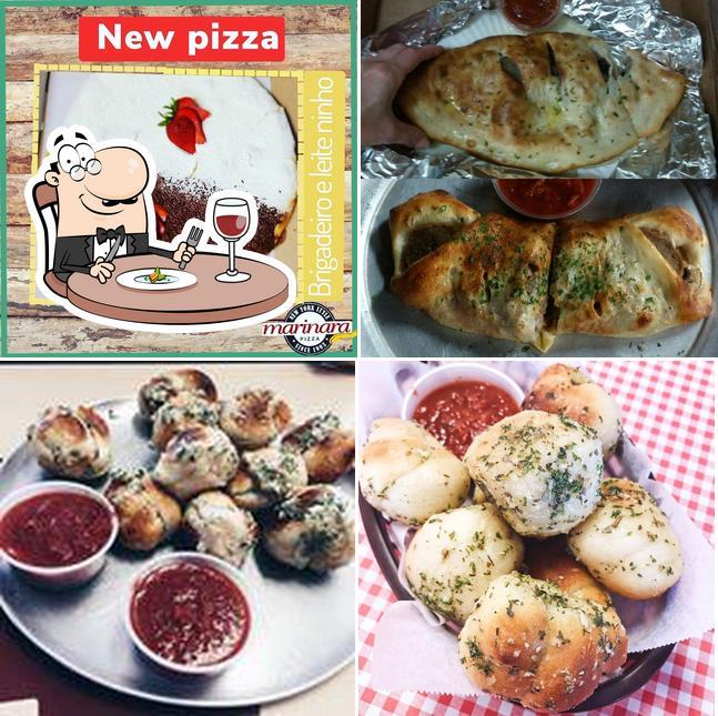 Food at Marinara Pizza