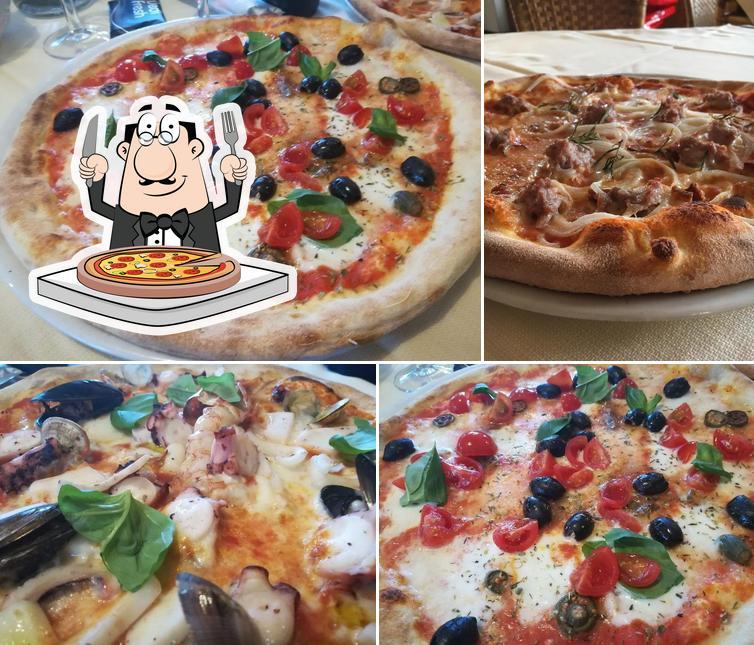 Prenditi una pizza a Ristorante Pizzeria Papillon