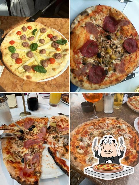 """Отведайте пиццу в """"Piazzetta Romana"""""""