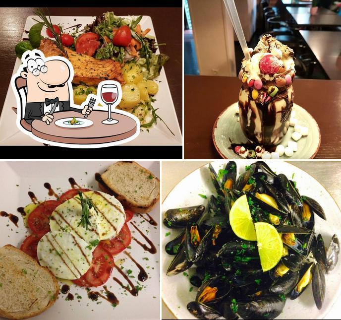 Gerichte im Vito Restaurant Cafe Bar