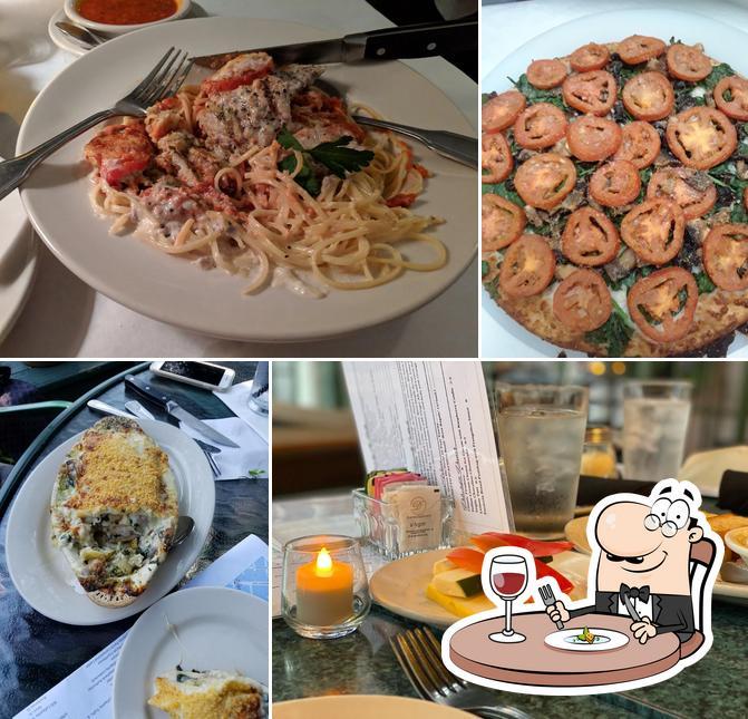 Food at Antoni's Italian Cafe
