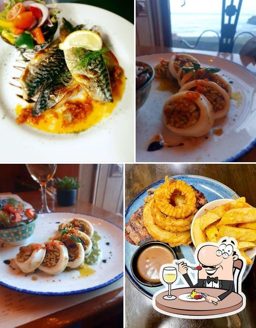 Food at Maddens Bridge Bar
