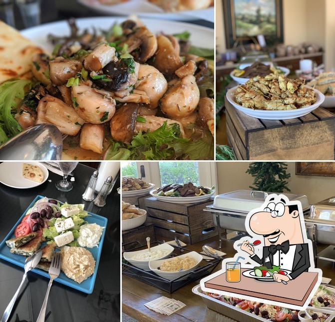 Food at Pangaea Restaurant and Wine Bar