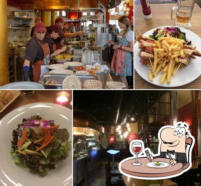 Food at Restaurant Calanda