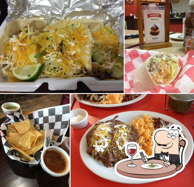 Food at Taco Love Grill