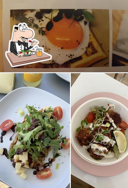 Essen im Blue Food - Mobile Cuisine
