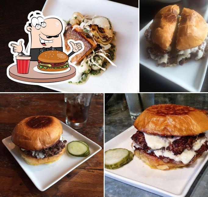 Order a burger at Borough