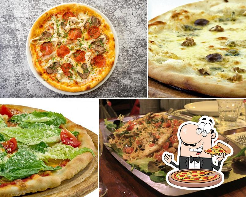 Pick pizza at Cafe Sicilia Moscow
