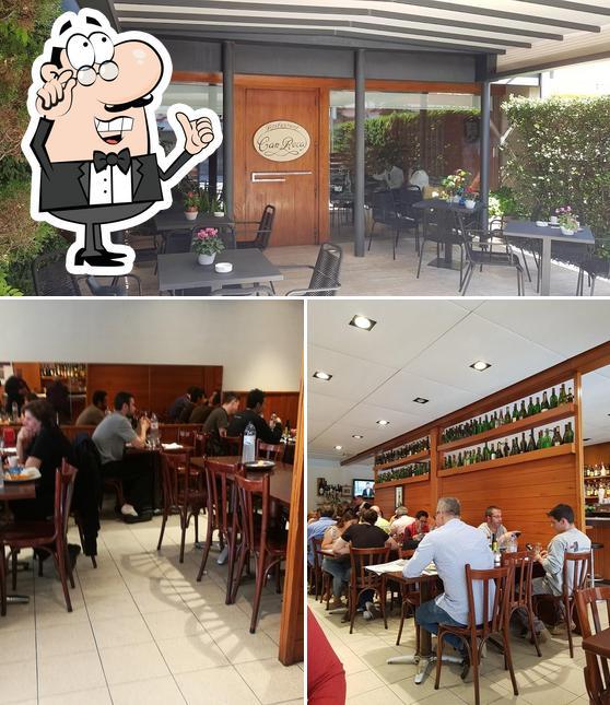 El interior de Restaurant Can Roca