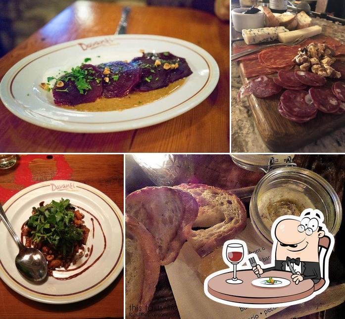 Meals at Davanti Enoteca Del Mar