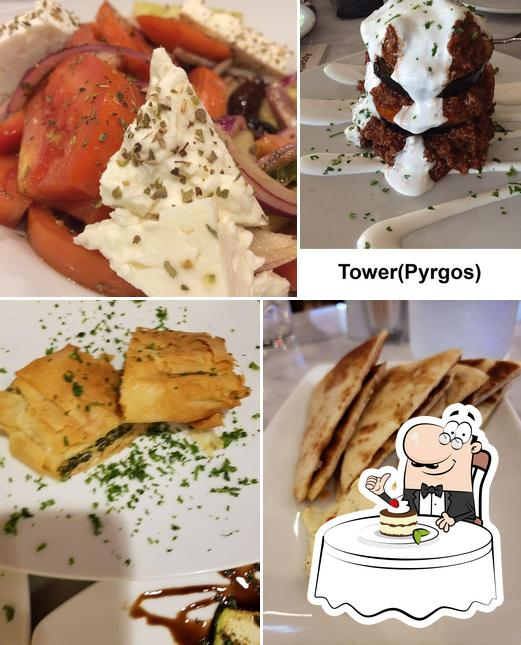 Greek Taverna Table 2201 provides a selection of desserts