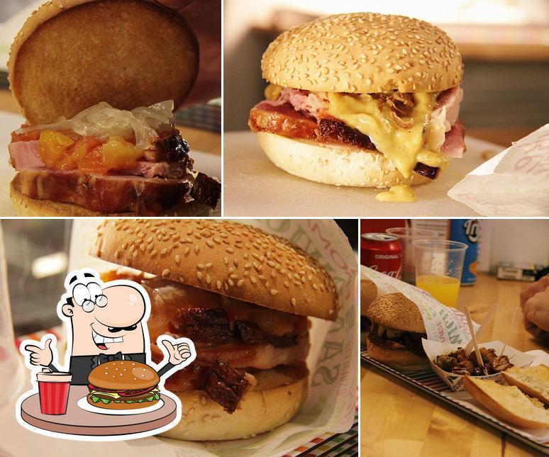 Prueba una hamburguesa en Karl's
