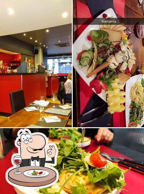 Food at La Bruschetta