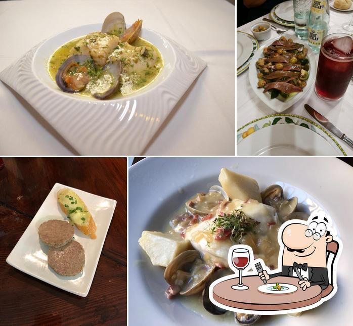 Еда в La Encina