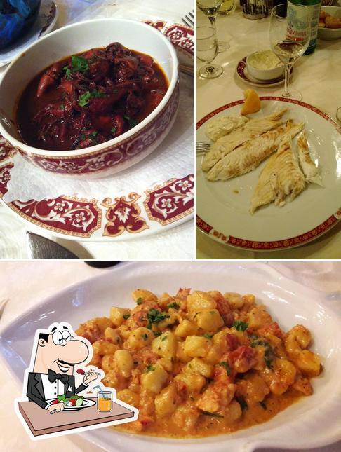 Essen im Locanda Del Boschetto