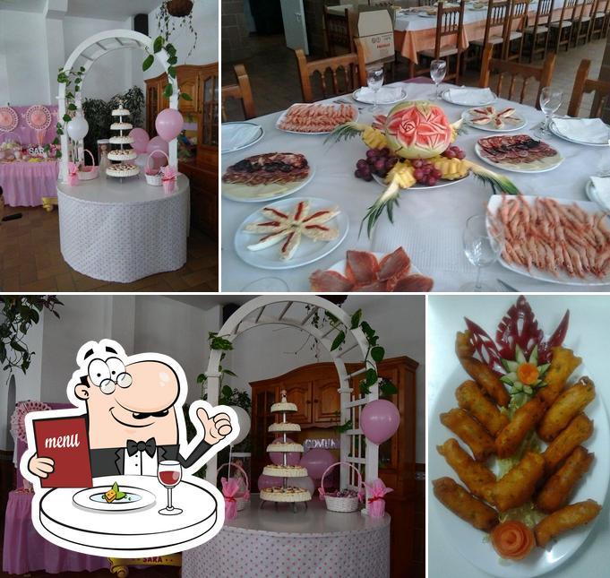 Food at Los Naranjos
