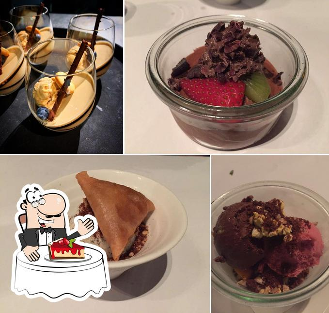 Nine Fine Food provides a variety of sweet dishes