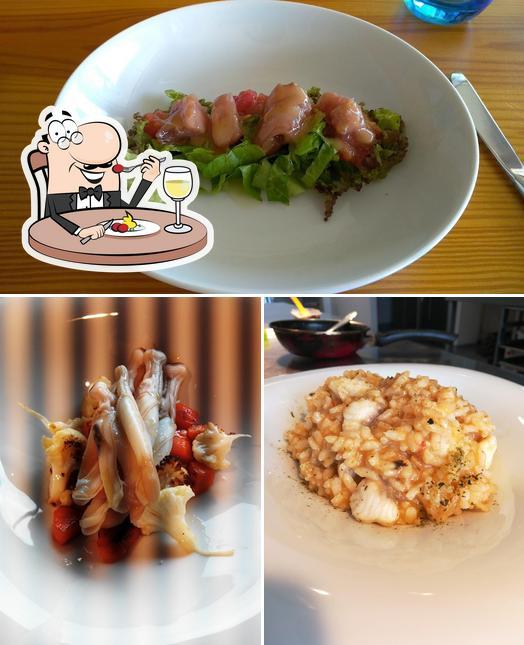 Comida en Ó Fragón restaurante