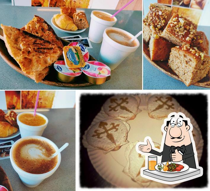 Platos en O pan de San Antonio