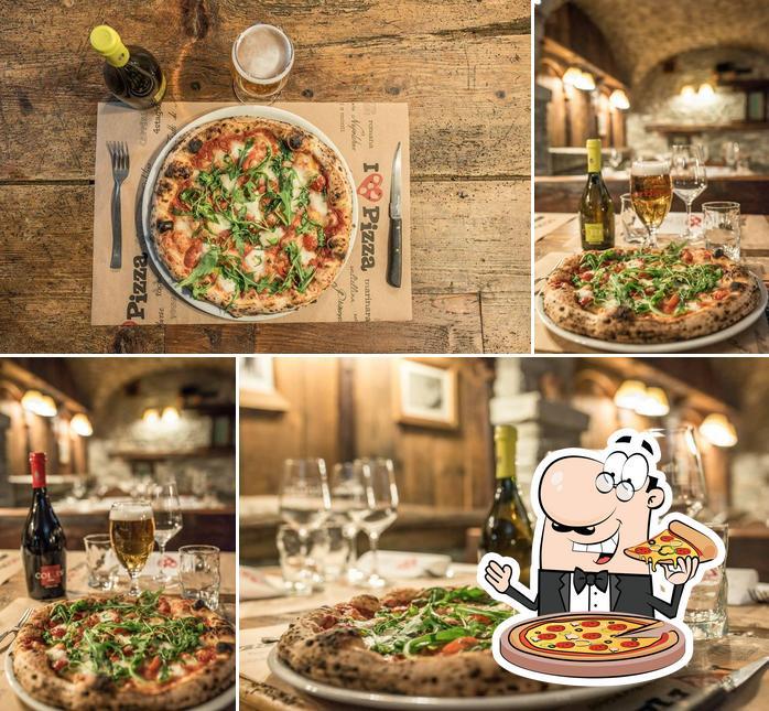Scegli una pizza a Pizzeria Le Dahu