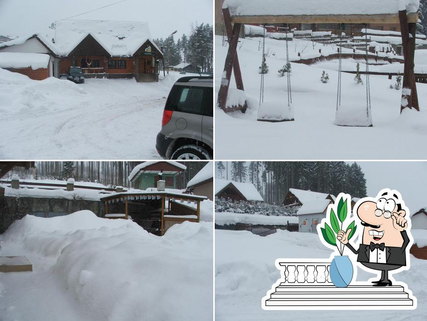 Check out how Salaš Orava looks outside