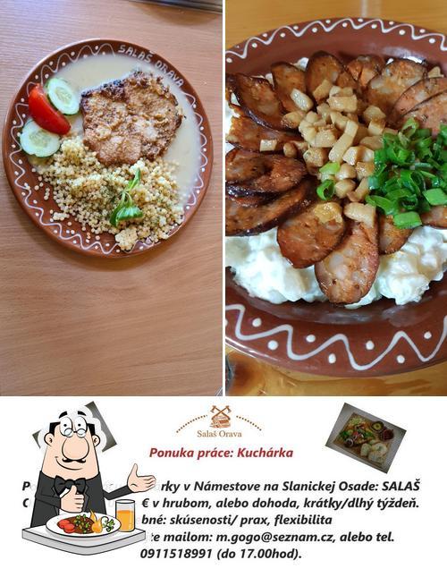 Food at Salaš Orava
