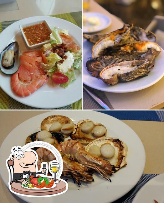 Try out seafood at Seasonal Taste