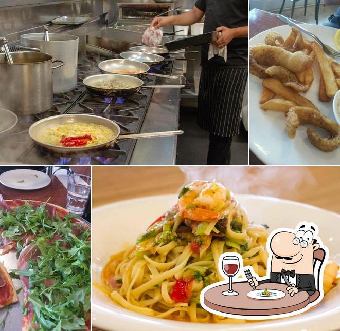 Еда в Sfizio Cucina e Caffé