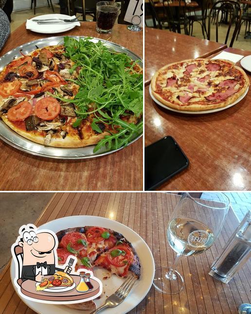 Закажите пиццу в Sfizio Cucina e Caffé