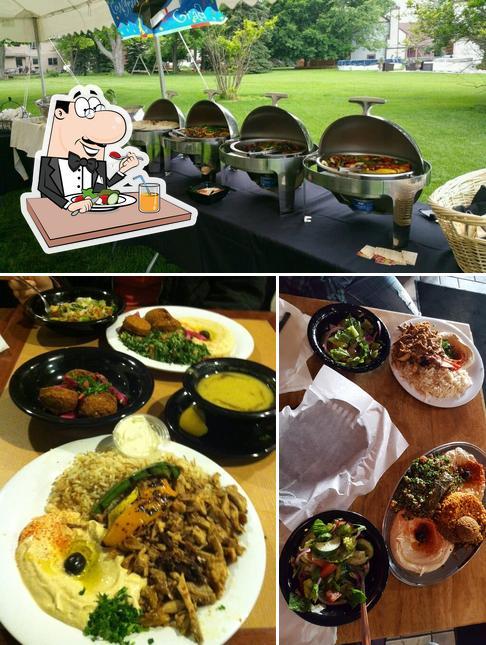 Food at Zaytoon Mediterranean