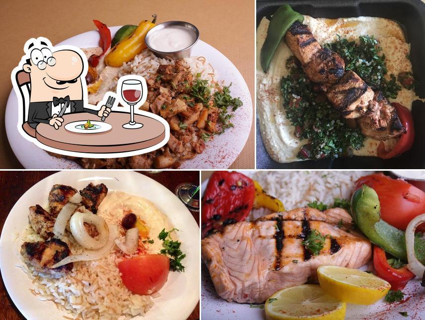 Meals at Zaytoon Mediterranean