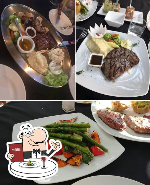 Meals at Roasted Grill & Bar