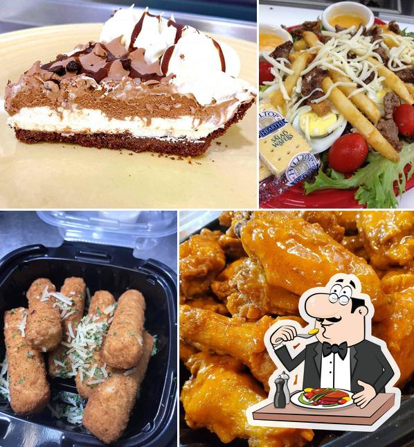 Food at Main Street Cafe & Grill