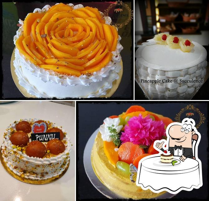 Succulence Cakes & Desserts provides a range of desserts
