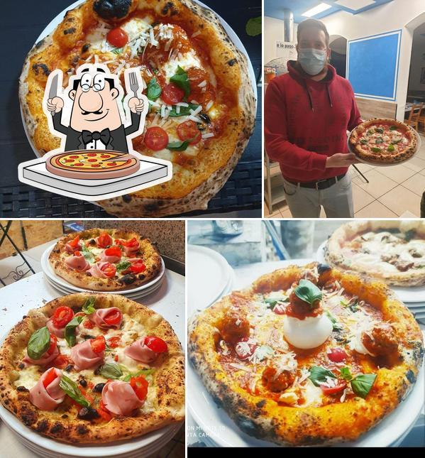 Попробуйте разные варианты пиццы