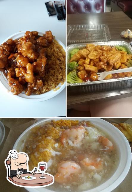Food at Great Wall Restaurant