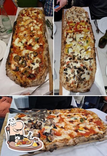 Pide distintos tipos de pizza