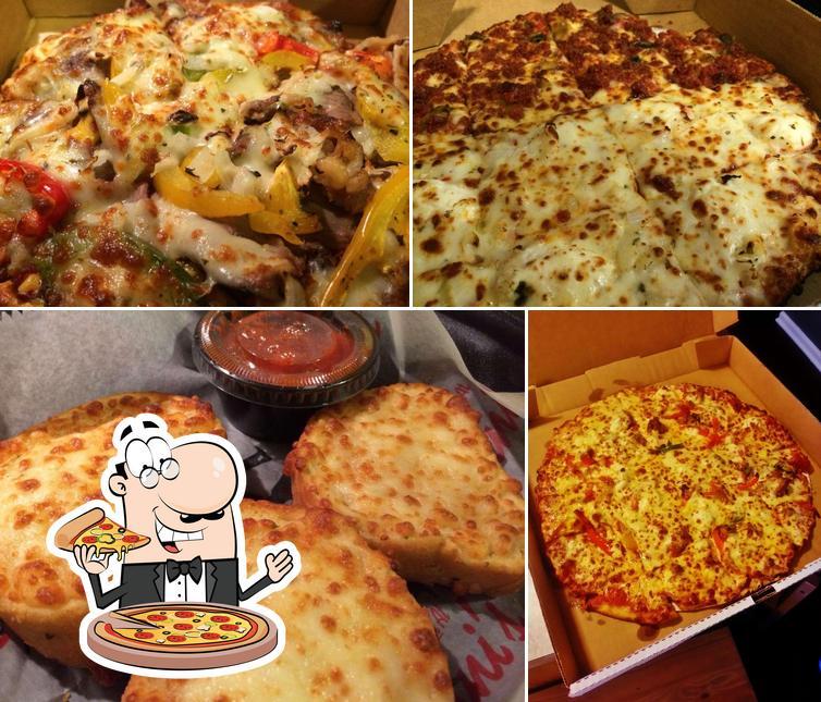 Order pizza at Arni's