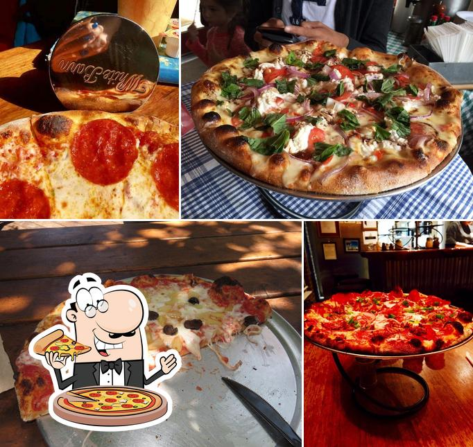 Try out pizza at LouEddies Pizza