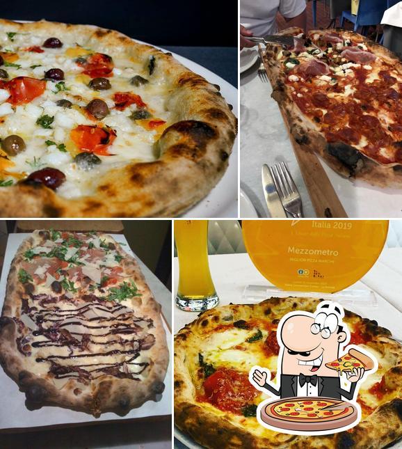 Ordina una pizza a Mezzometro Senigallia