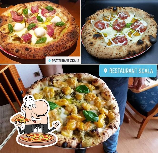 Get pizza at Ristorante Scala