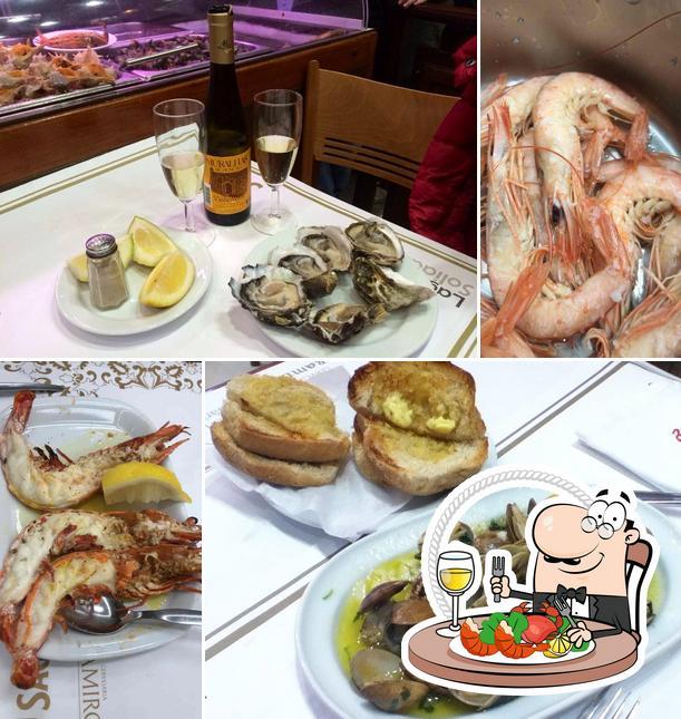 Experimente frutos do mar no Cervejaria Ramiro
