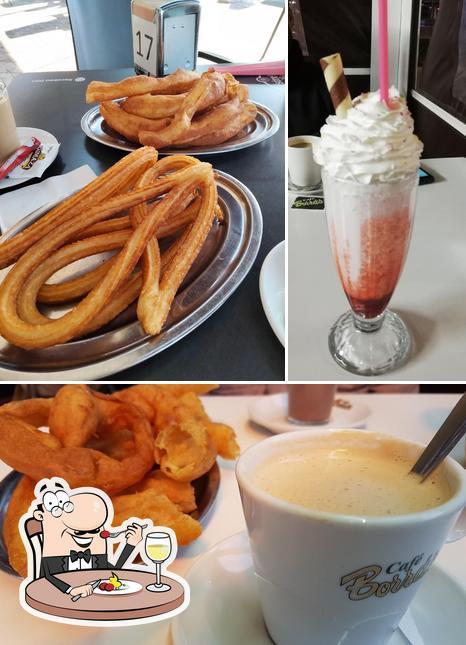 Food at Chocco & Beer