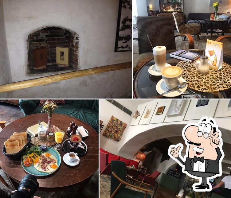The interior of Egon Café