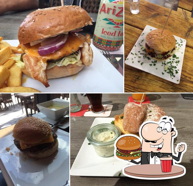 "Отведайте гамбургеры в ""Kunstwerk"""