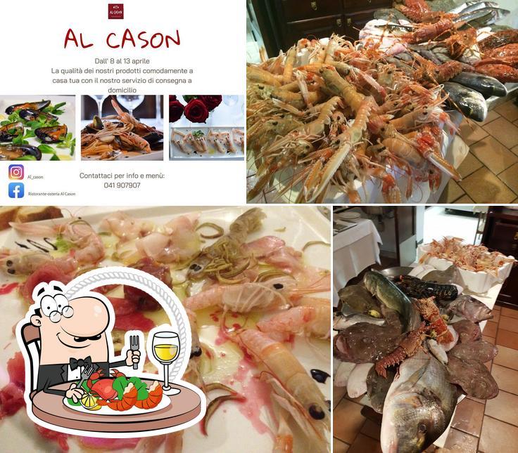Ordina la cucina di mare a Al Cason