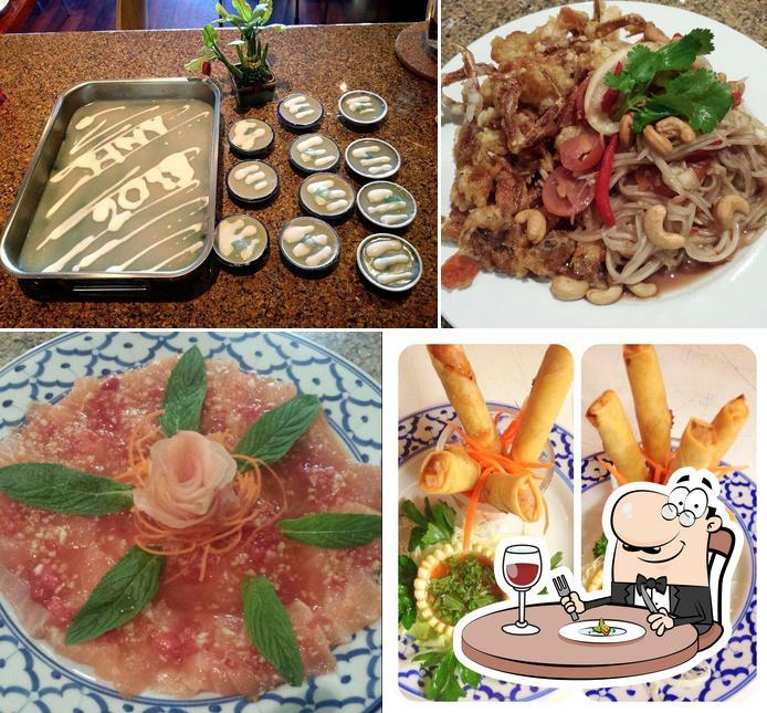 Food at Aroy Thai Restaurant
