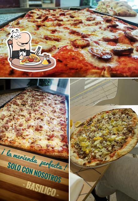 Elige una pizza en BASILICO Pizza al Taglio