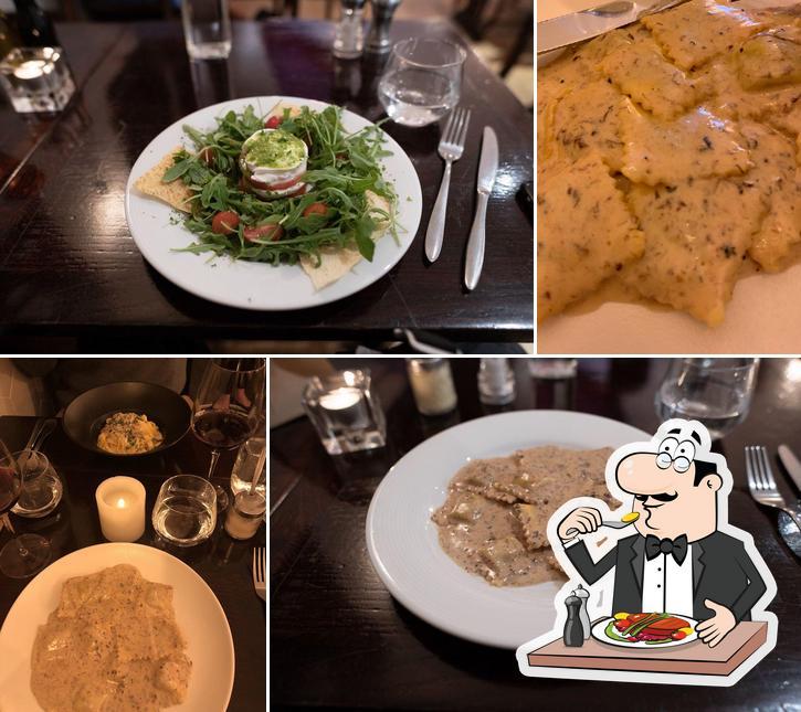 Еда в Bar Italia Brasserie