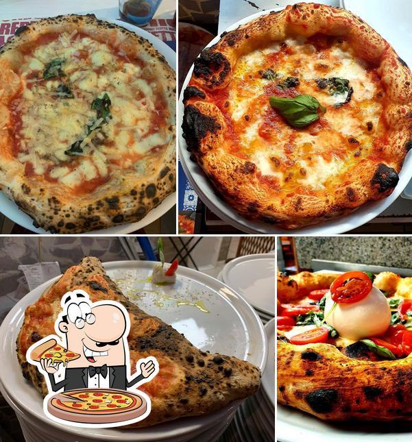 Попробуйте пиццу в Benvenuti Al Sud